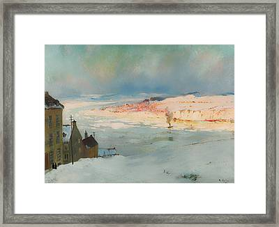 Levis From Quebec Framed Print by Mountain Dreams