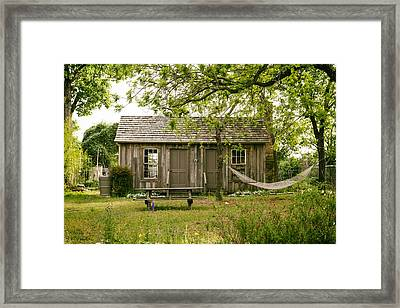 Life In Clarksville Framed Print by Mountain Dreams