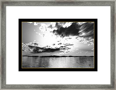 Light Of Day Framed Print by Peter Chasse