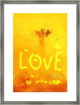 Love Framed Print by Stefan Kuhn