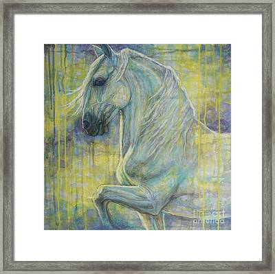 Magic Blue Framed Print by Silvana Gabudean