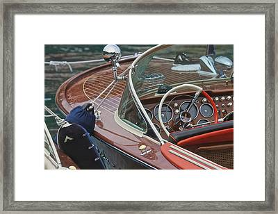 Magnificent Mahogany Framed Print by Steven Lapkin