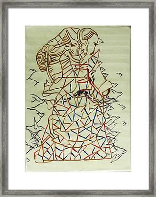 Mama Asia Framed Print by Gloria Ssali