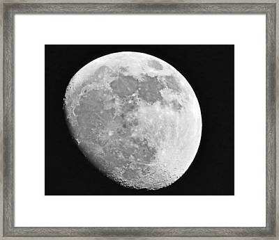 Man In The Moon Framed Print by Tom Gari Gallery-Three-Photography