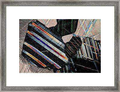 Marble Framed Print by Antonio Romero