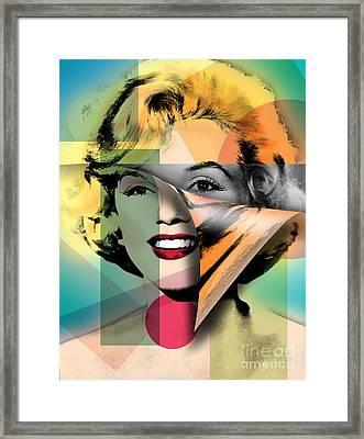 Marilyn Monroe Framed Print by Mark Ashkenazi
