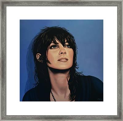 Marion Cotillard Framed Print by Paul Meijering