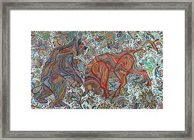Market Nature Framed Print by Erika Pochybova