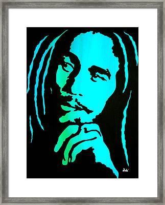 Marley Framed Print by Debi Starr