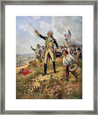 Marquis De Lafayette (1757-1834) Framed Print by Granger