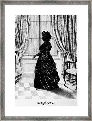 Martha Washington (1731-1802) Framed Print by Granger