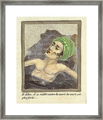 Masturbation Health Booklet Framed Print by British Library