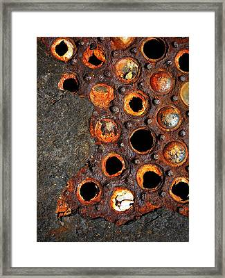 Matrix Framed Print by Skip Hunt