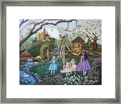 Mayday Serenade  Framed Print by Linda Simon