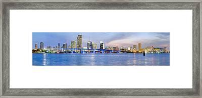 Miami 2004 Framed Print by Patrick M Lynch