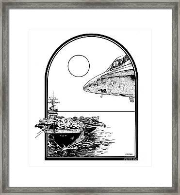 Midnight Ride Framed Print by Joseph Juvenal