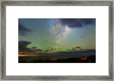 Milky Way Framed Print by Luis Argerich