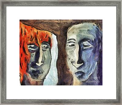 Mirroring - Retrospect Framed Print by Michal Boubin