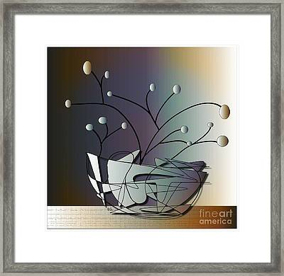 Mode Framed Print by Iris Gelbart