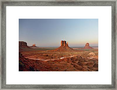 Monument Valley Framed Print by Christine Till