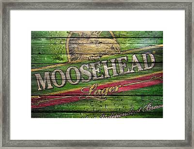 Moosehead Framed Print by Joe Hamilton