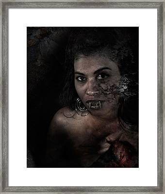 Mult Celula Framed Print by David Fox