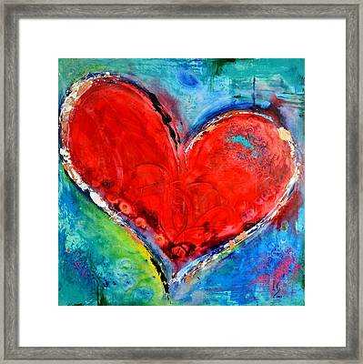 Music Of The Heart Framed Print by Ivan Guaderrama