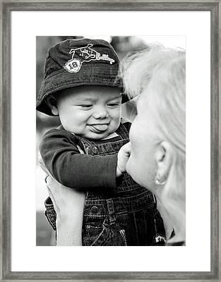 Na-na To Nanna Framed Print by Lisa Phillips
