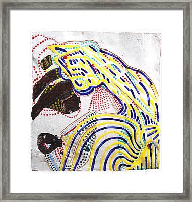 Nativity Of Jesus Framed Print by Gloria Ssali