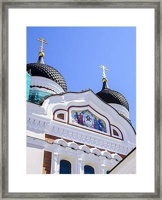 Nevsky Cathedral - Tallin Estonia Framed Print by Jon Berghoff