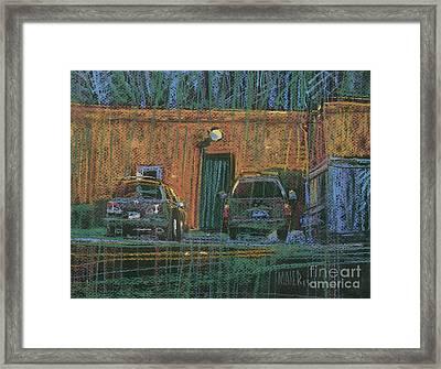 Next Door Framed Print by Donald Maier