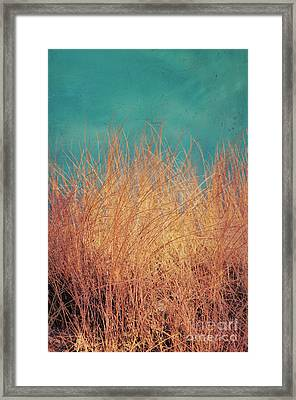 Northsea Feeling Framed Print by Angela Doelling AD DESIGN Photo and PhotoArt