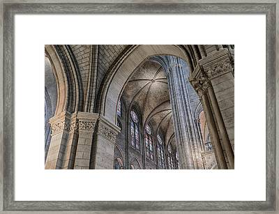 Notre Dame Framed Print by Bruce Ingwall