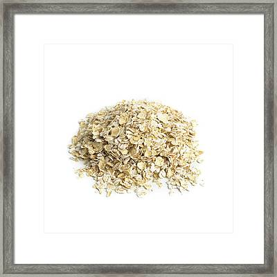 Oats Framed Print by Science Photo Library