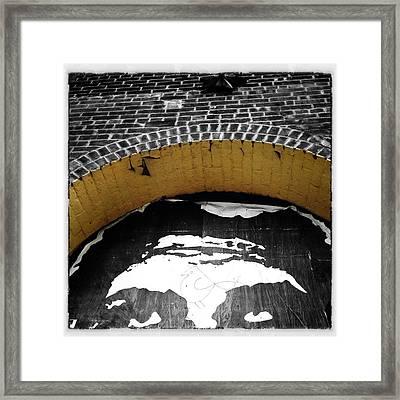 Obey Giant Framed Print by Natasha Marco