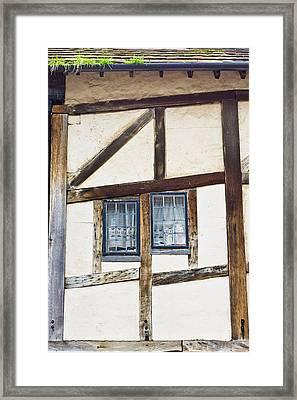 Old Cottage Framed Print by Tom Gowanlock