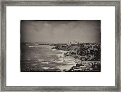 Old San Juan Framed Print by Dado Molina