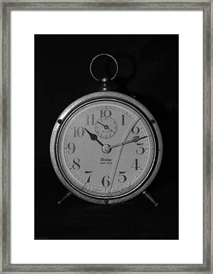 Old Westclock Framed Print by Rob Hans