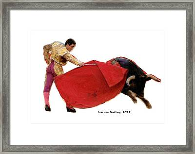 Ole Framed Print by Bruce Nutting