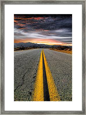 On Our Way  Framed Print by Ryan Weddle