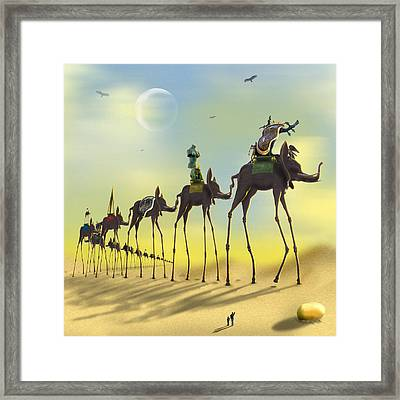 On The Move Framed Print by Mike McGlothlen