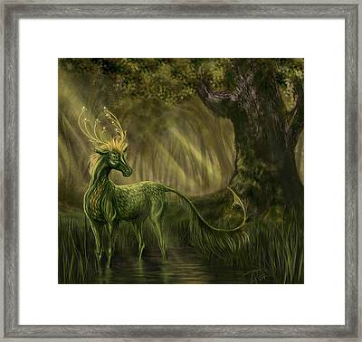 Once Upon A Time In A Forest Framed Print by Katerina Romanova