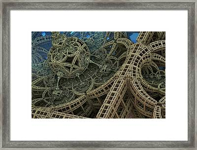 Parallel World 2 Framed Print by Evgeniy Lankin