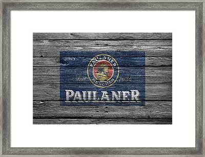 Paulaner Framed Print by Joe Hamilton