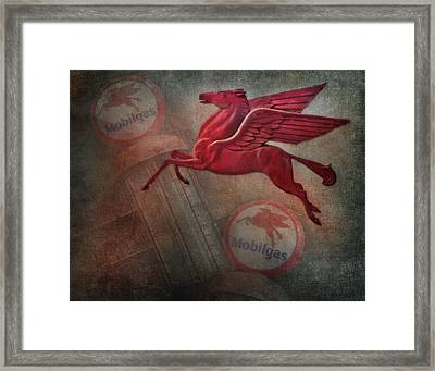 Pegasus Framed Print by David and Carol Kelly