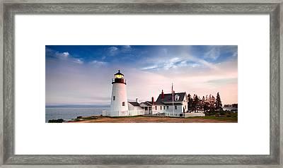Pemaquid Lighthouse Framed Print by Emmanuel Panagiotakis