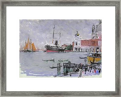 Pennell Venice, C1905 Framed Print by Granger