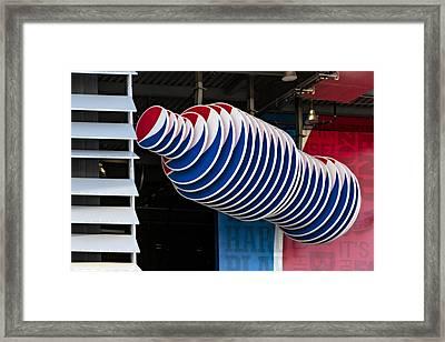 Pepsi Cola Bottle Framed Print by Susan Candelario