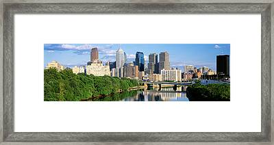 Philadelphia, Pennsylvania, Usa Framed Print by Panoramic Images