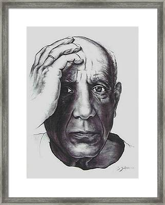 Picasso Framed Print by Guillaume Bruno